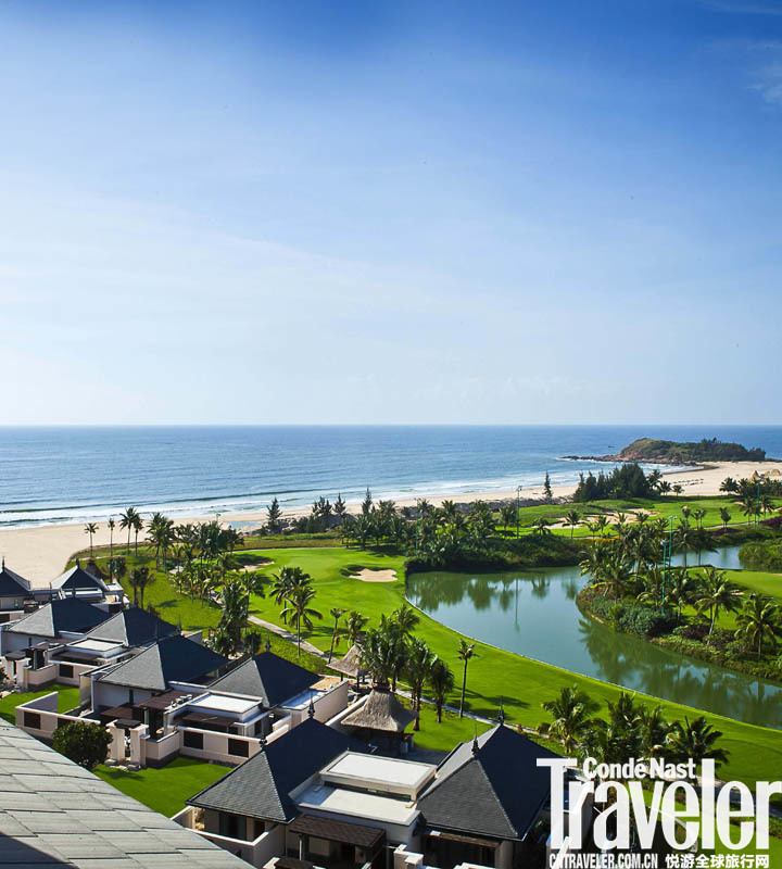 海南雅居樂萊佛士酒店 Raffles Hainan:酒店獨擁綿延12公里的海灘,白沙細膩到可以融化一切?;A房型空...