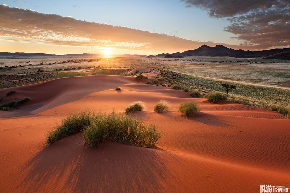 纳米比亚这里是世界上最古老最干燥的沙漠之