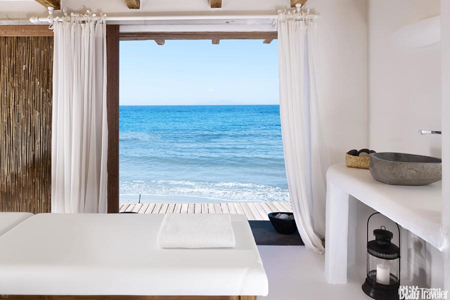 希腊 米克诺斯Santa Marina, a Luxury Collection Resort:在游客云集、?#20107;?#20105;相到访的米克诺斯岛上,Sa...