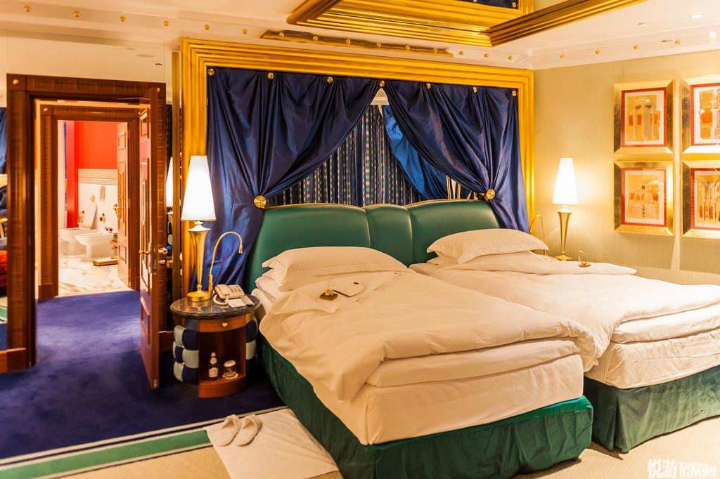 阿拉伯塔酒店最贵的房间