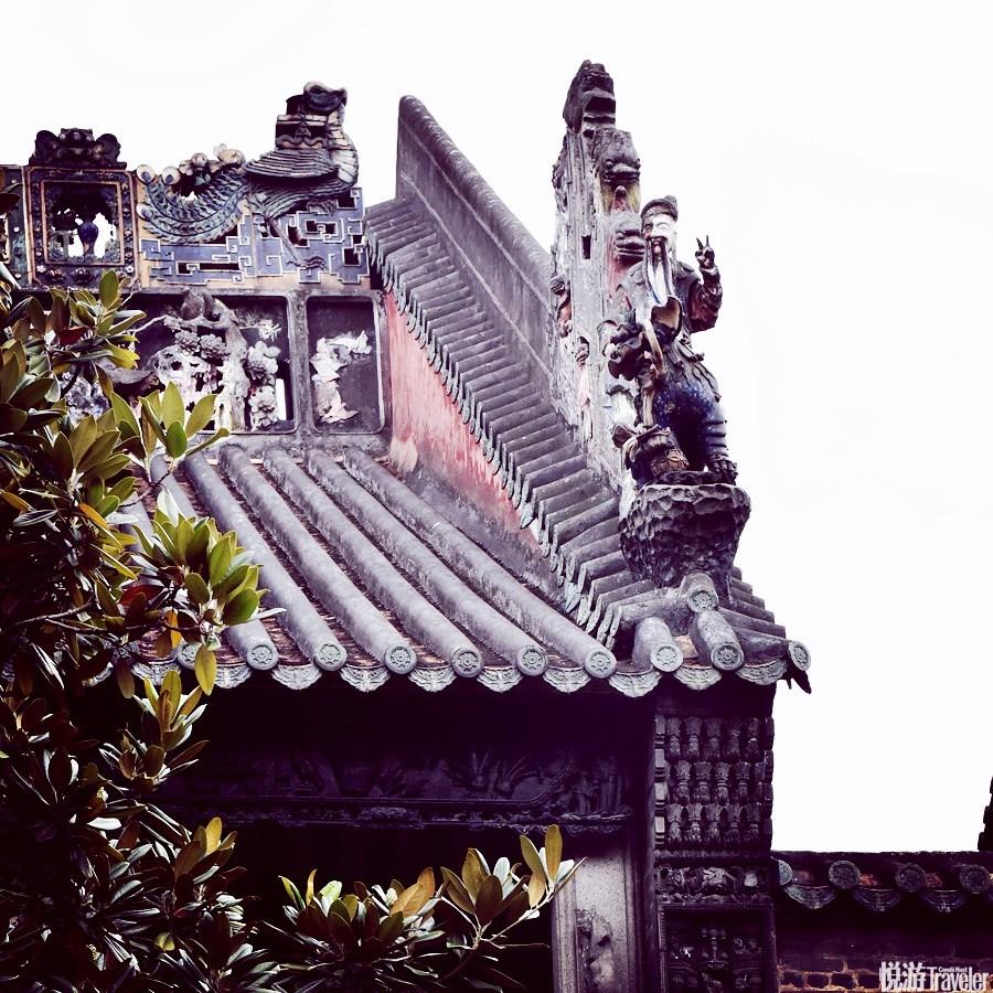 10:00 建筑之名。Tips:后进东路南面垂脊上有一座日神灰塑,独特之处就在于这座非常中国传统的雕塑竟然做...