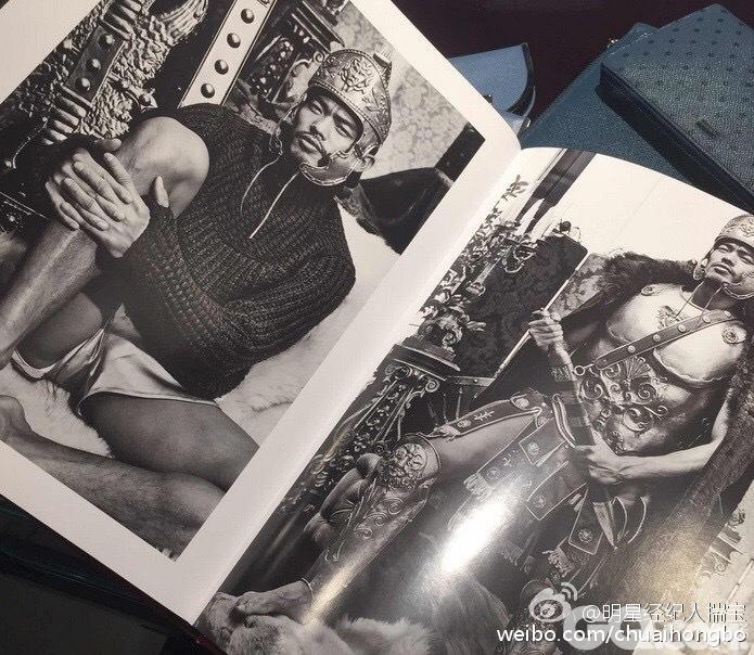从出道至今,林丹一直对某意大利时尚品牌情有独钟。这本写真集属于林丹个人与该意大利品牌的合作,并非公开广告,也只在该品牌位于上海、北京、香港以及澳门的旗舰店出售。