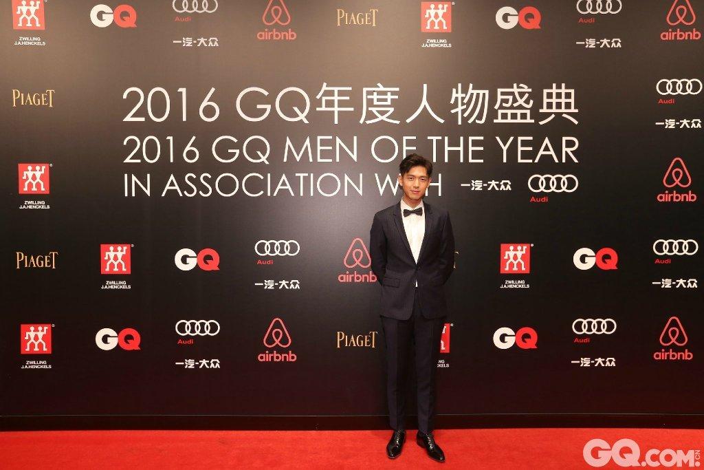 李现出席2016GQ年度人物盛典。