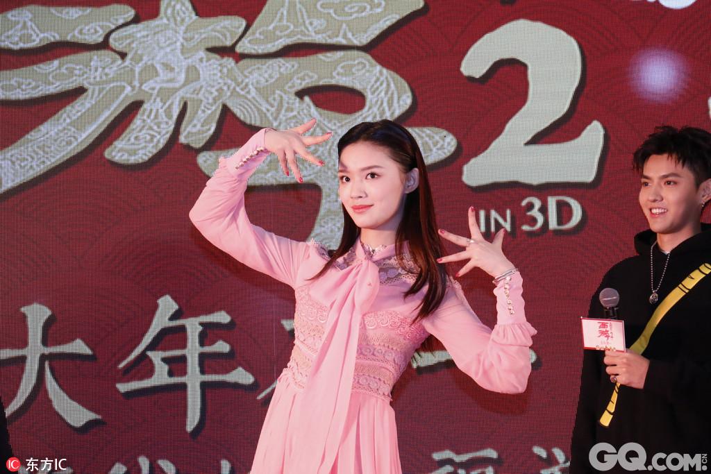 周星驰,徐克携影片主演吴亦凡,林更新,姚晨,林允,包贝尔,巴特尔,杨图片