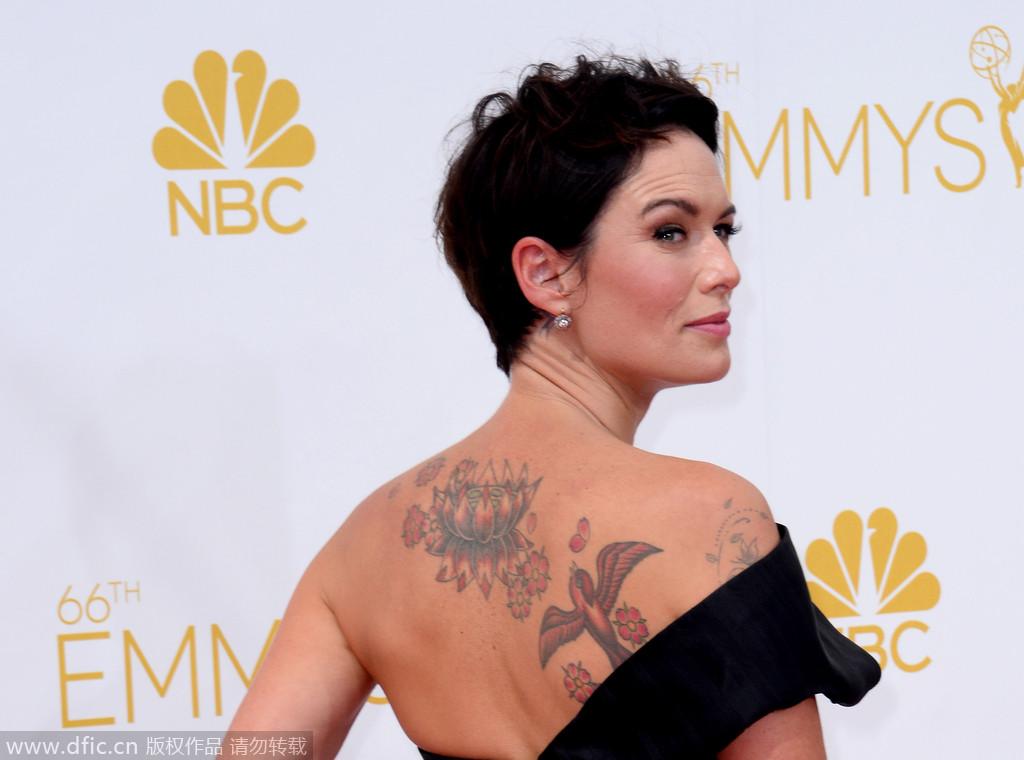 小纹身,大魅力:欧美明星时尚纹身欣赏