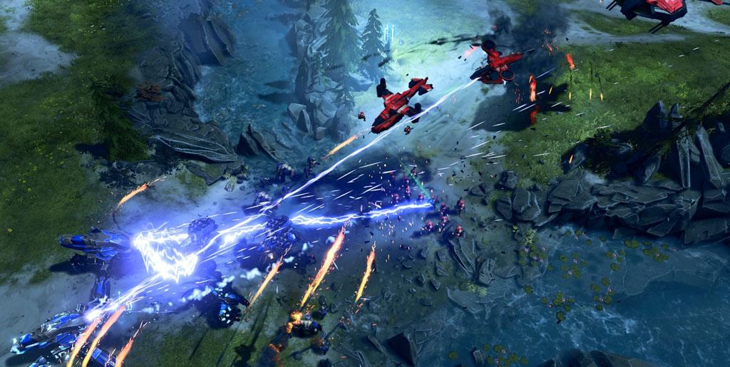 """NO.6光环战争2 古老的敌人""""洪魔""""将会在《光环战争2》正式回归,可见这次的战役将会很残酷,所以玩家要做好心理准备。"""