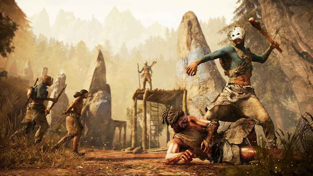 NO.4孤岛惊魂5 同样出自育碧的还有《孤岛惊魂5》。游戏的背景是在美国的蒙大拿州,玩家既单人模式也有双人合作模式,游戏中完善的雇佣系统使得枪支、猛兽都可以为玩家所用,玩家通过努力要夺回被邪教渗透的村庄。