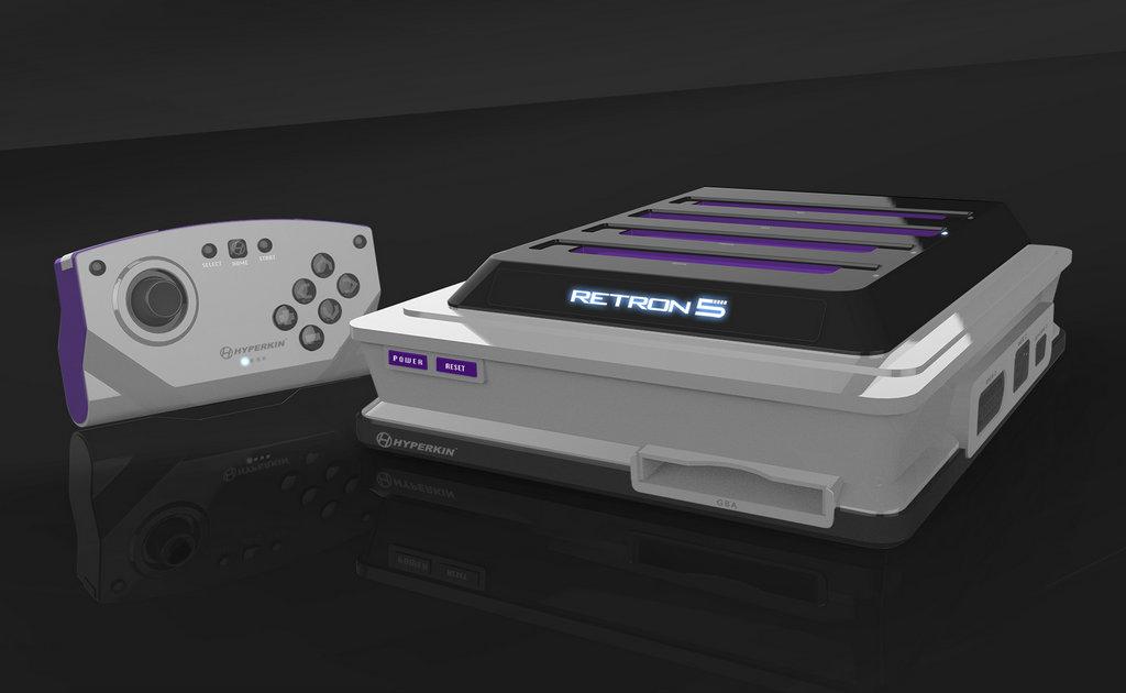 第五代Hyperkin Retron首款完美复制任天堂系统的游戏机,该设备几乎成为玩家的首选期待。能够为用户提供外设720p的高清游戏画质,支持各种情况的游戏存档,编码读取,以及任天堂出产的各种外设游戏设备。