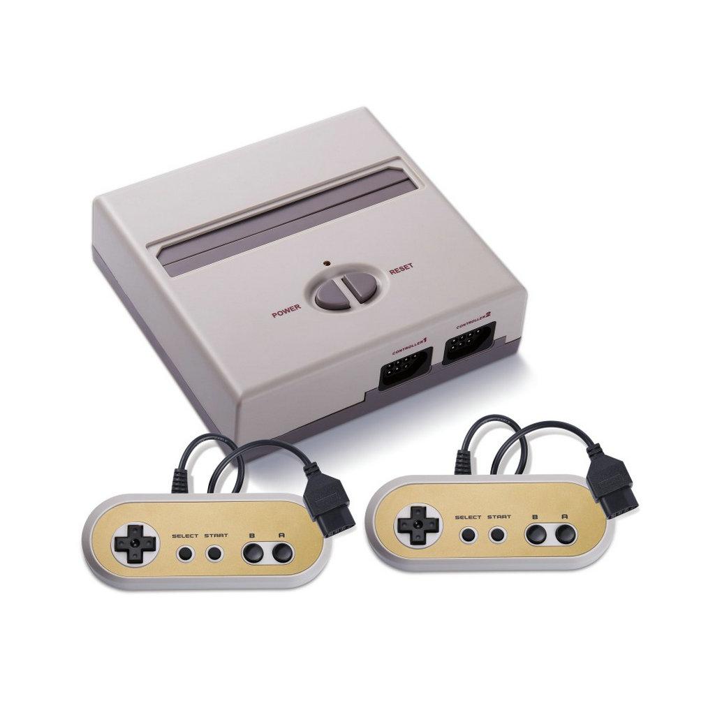 如果预算有限的话,那么可以考虑这款产品,HAMY NES和SNES HD。这两款产品能够完美支持NES卡带,同时在游戏屏幕呈现效果上也是极好的。外设的四个通道可以同时支持两个游戏者进行竞技。