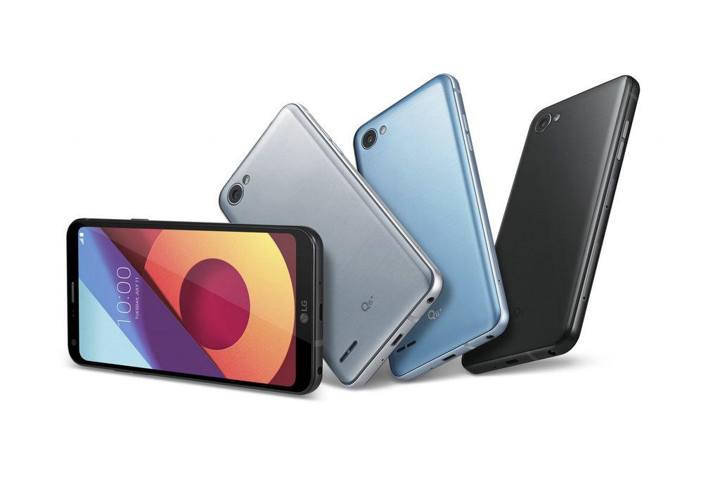 "NO.2 5.5英寸的手机尺寸,搭载Android ""牛轧糖""系统,整体上来讲机型设计上还是一定程度上延续了LG G6的设计理念。"