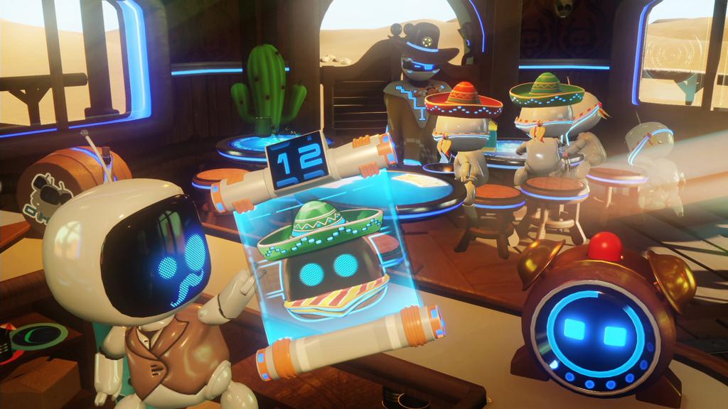 "NO.4《The Playroom VR》 我们前面介绍的都是个人游戏,现在的这个是好多同伴可以一起玩的游戏,名称为《The Playroom VR》。这是一款有索尼出品游戏,强调的是""众乐乐"",其中《怪物大逃亡》是最好玩的,在朋友或者家人团聚的时候可以一起玩耍,而且这款游戏还是免费的。"