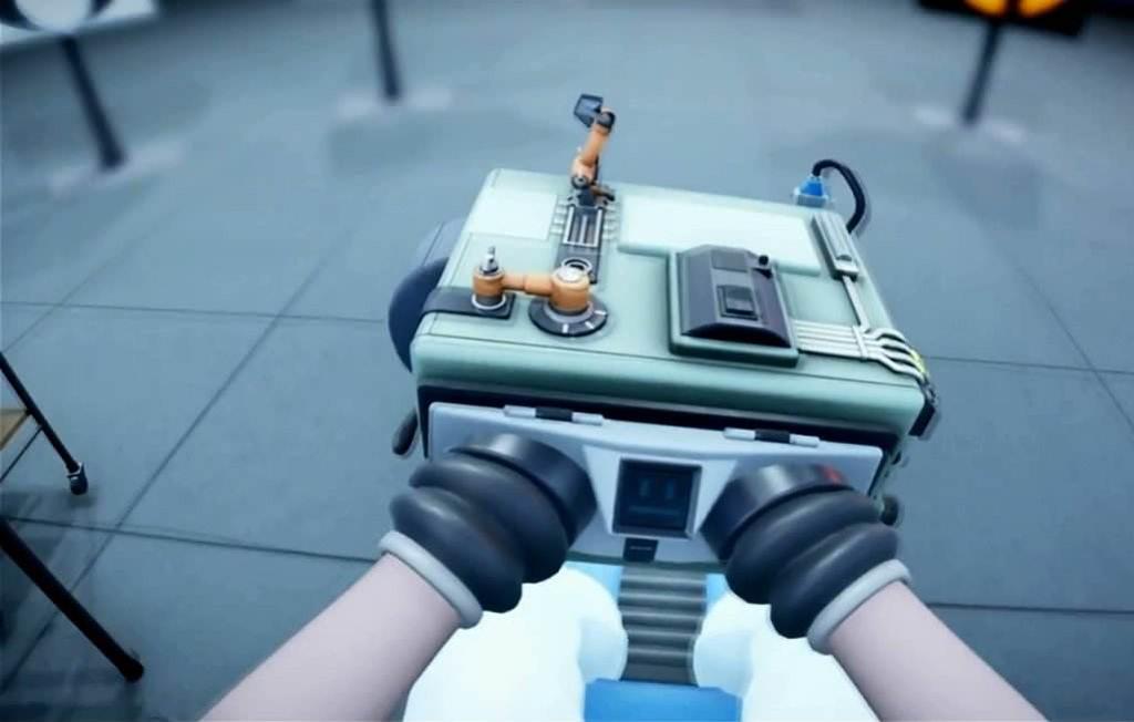NO.3《Statik》 我们认为能够有VR版的游戏,一定是有激烈的打斗或者是具有超强的空间感的游戏,但是益智游戏也有VR版,《Statik》就是其中之一。游戏的背景是志愿者被奇怪的仪器所束缚,要想打开束缚,就必须突破各种谜题。通过PS4 手柄可以通过按键来控制不同的功能,你可以感受到自己就被捆在椅子上,代入感很强,是一款游戏版的迷失逃脱。