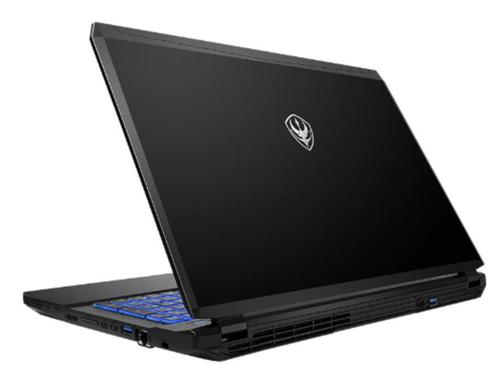 NO.3魔法师钢魔G57 魔法师钢魔G57的外形设计回归了平凡,比较简单,所以如果选择了这款笔记本,那么就注定了你们的缘分。简洁大方的A面,除了logo基本都是黑色覆盖,B,C,D面也没有太花哨,基本都是黑色和金属色的搭配。此款笔记本内部搭载全新i7-7700处理器,采用GTX1060显卡,可以支持很多游戏的流畅运行。 参考价格:7999元