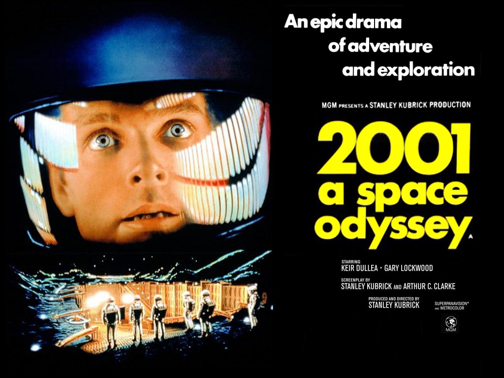 NO.1《2001太空漫游》 说起《2001太空漫游》的电影,那就得追溯到上世纪的1968年,在当时是一部划时代的科幻电影,电影中多次展现了太空航行、人工智能等情节,虽然现在看起来都是可以实现的,但是在当时真的是闻所未闻,见所未见。通过现在30salon与电影中的情节对比,不得不佩服作者的想象力,或者说是语言能力。电影中还体现了曾经的平板电脑,可以说苹果现在iPad都要交专利费呢。