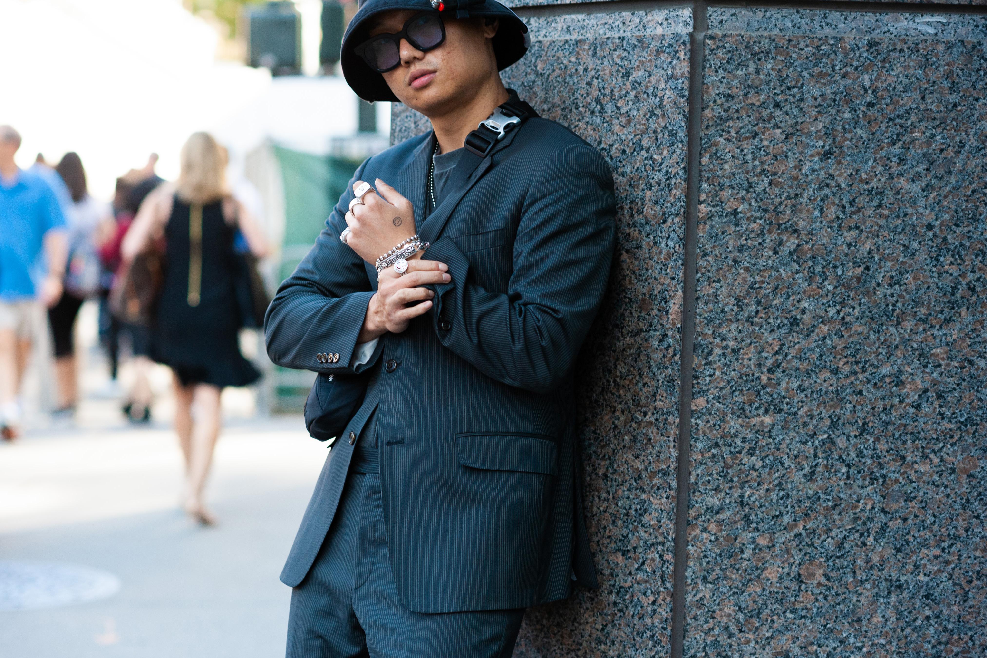 2019年6月紐約男裝周街拍DAY1