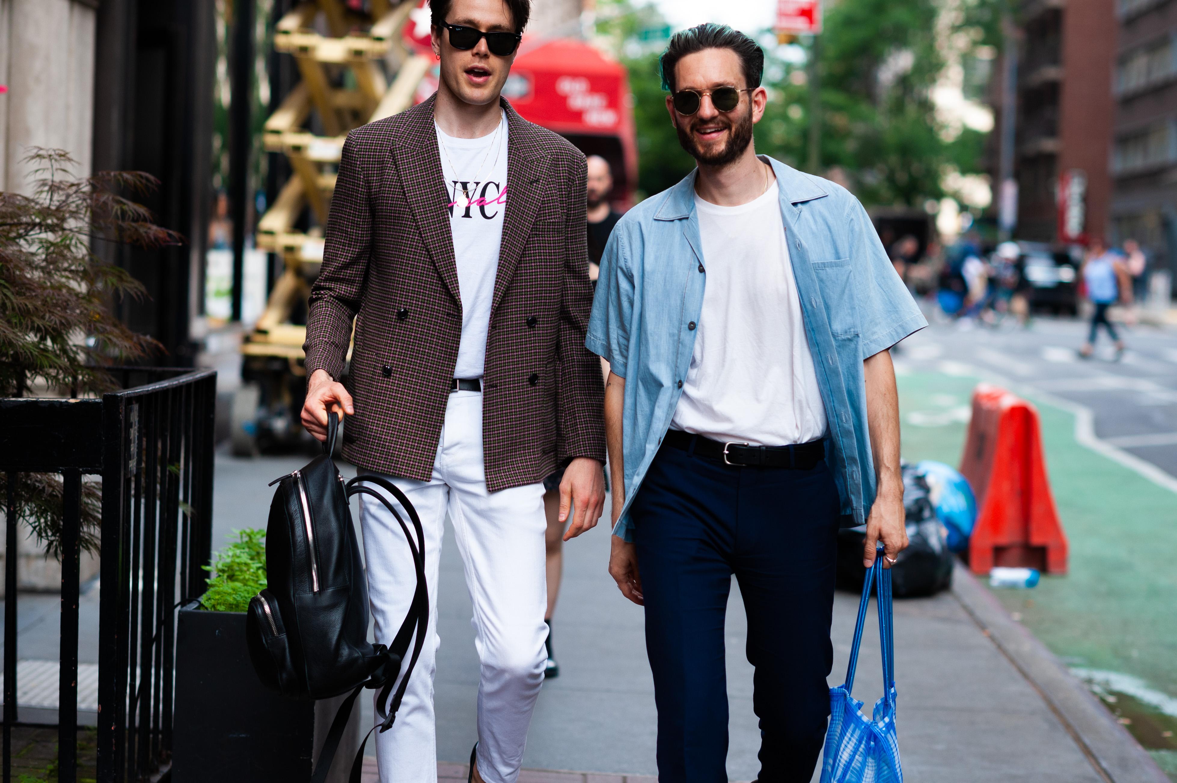 2019年6月紐約男裝周街拍DAY3