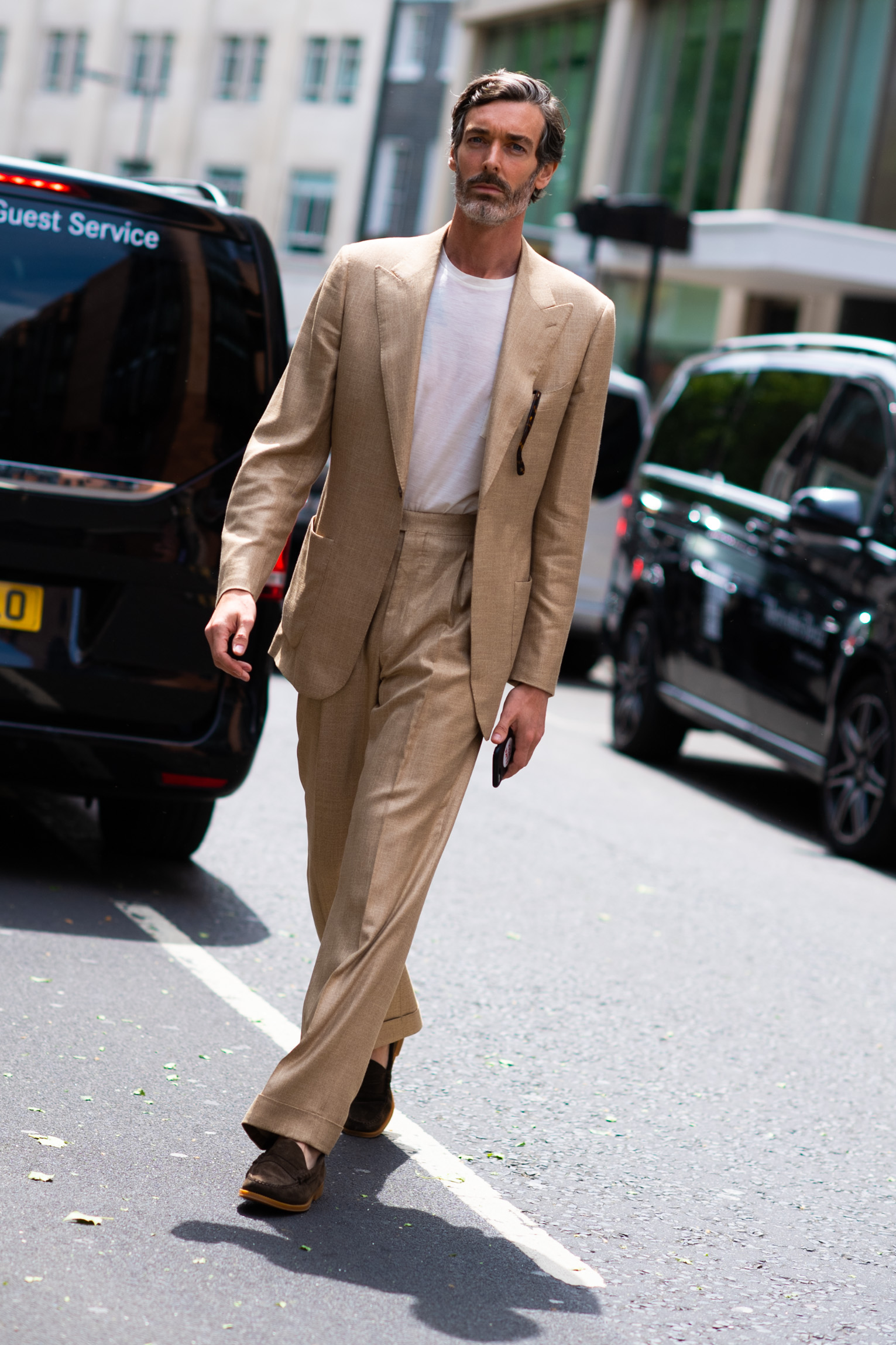 2019年6月伦敦男装周街拍DAY2
