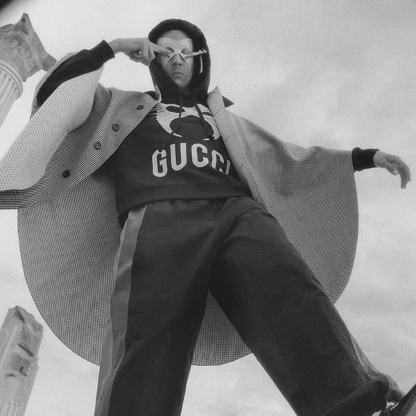 """古驰与康泰纳仕合作推出:申博怎么注册登入,""""演出者(The Performers)""""系列短片第三季第二作 由意大利新锐说唱歌手Ghali领衔出演"""