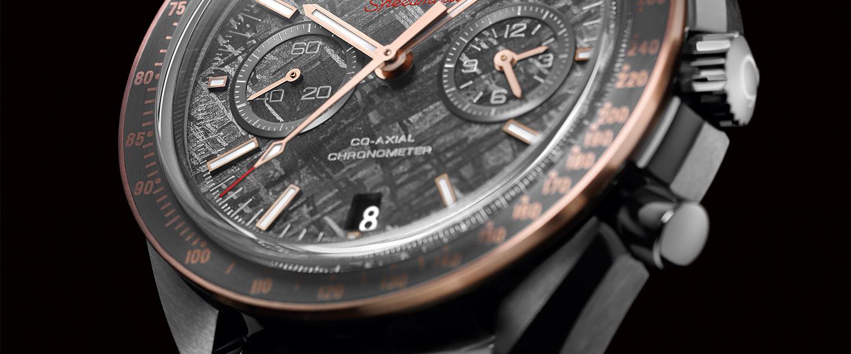 腕表各不同 隕石作表盤