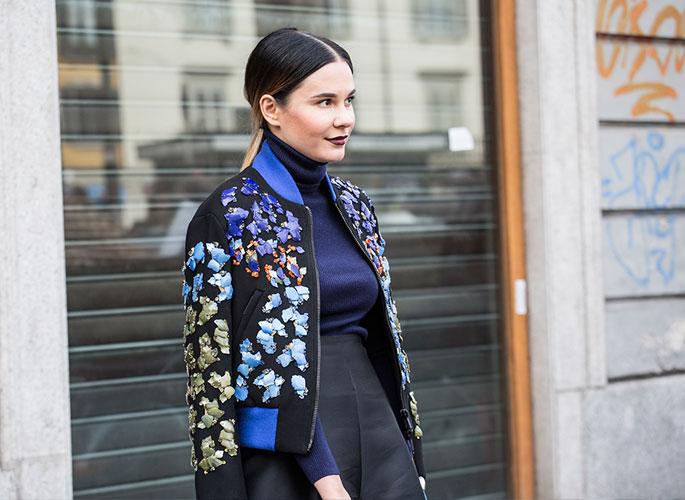 米兰时装周一线街拍日记