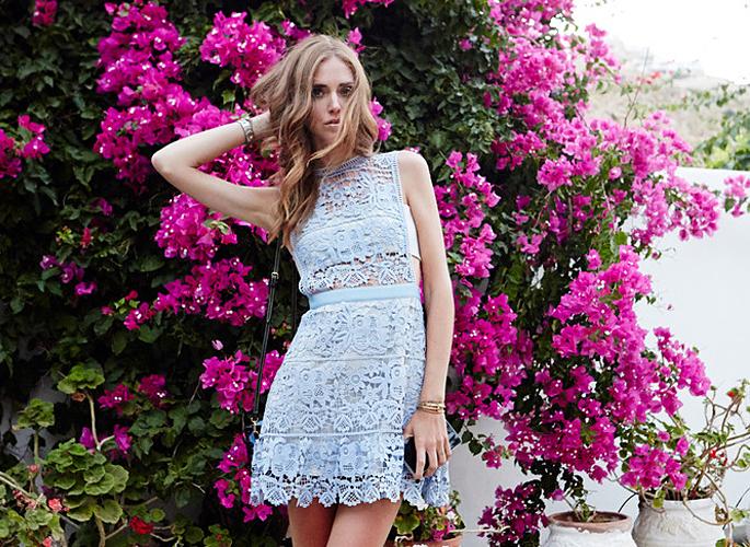 夏天 我只想穿一条比谁都美的蕾丝裙