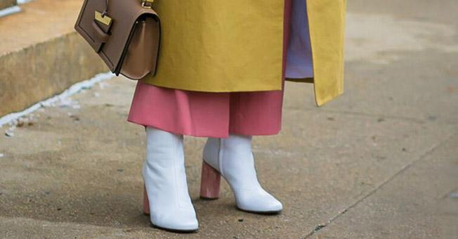 时髦的人 穿短靴不再露脚踝了