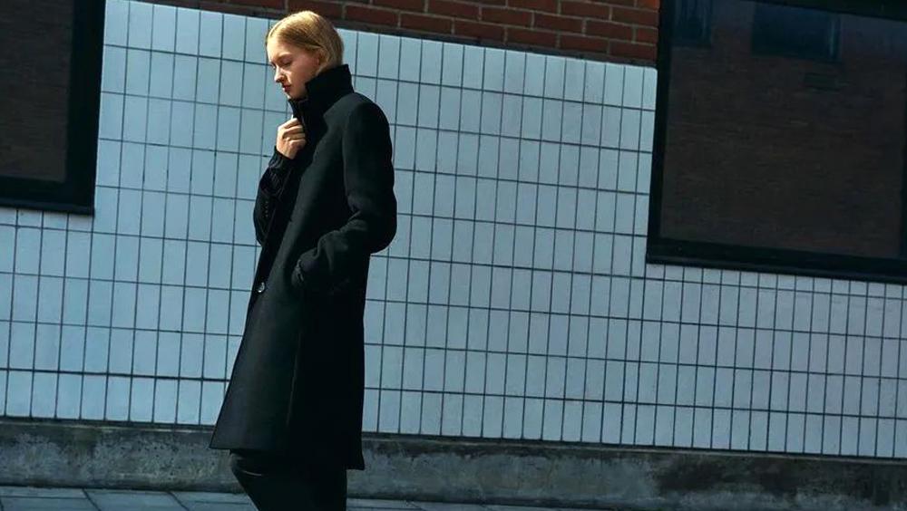"""我是小個子,這樣穿大衣""""長高""""了10CM"""