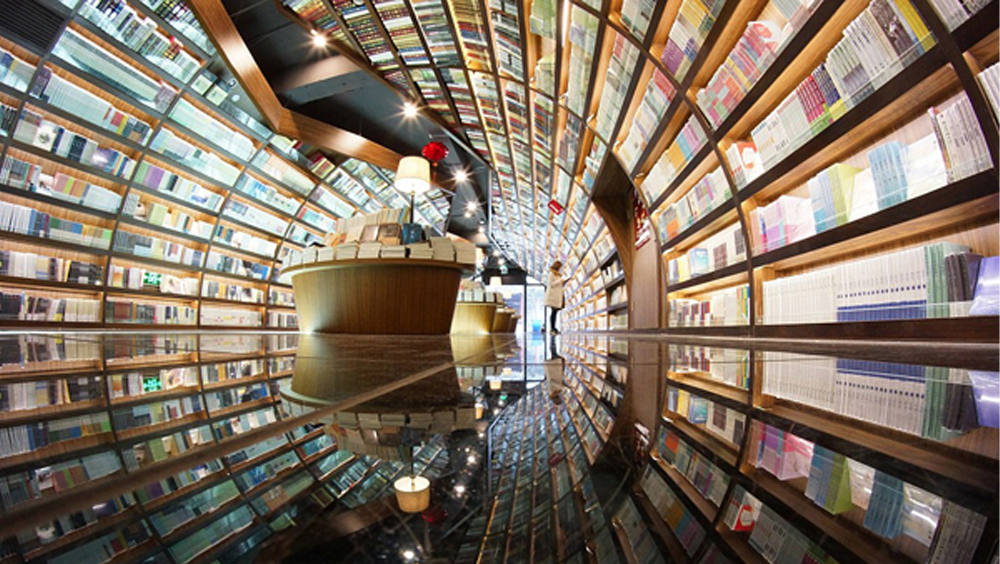 被天津海滨图书馆刷屏,国内还有这些超酷的图书馆