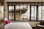 """""""齐云""""客房的二层也是观赏院中古建筑的好地方。"""