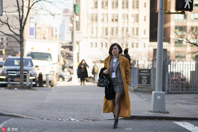 2018秋冬紐約時裝周街拍Day8