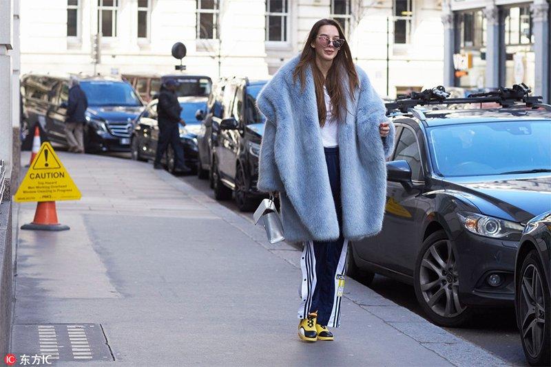 2018秋冬伦敦时装周街拍 Day3
