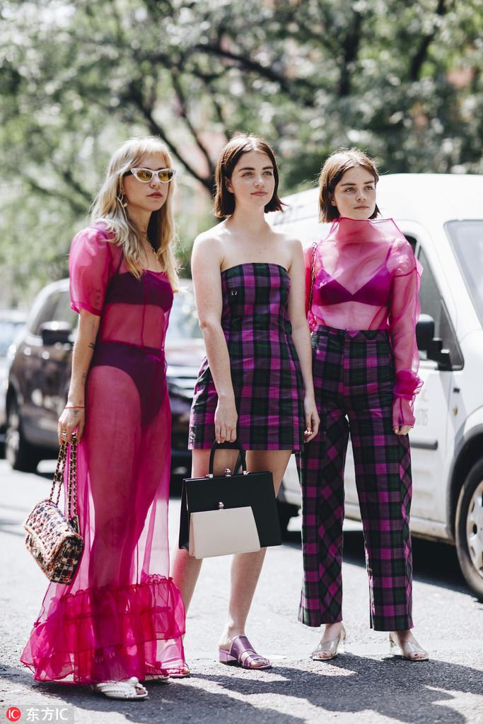 2019纽约春夏时装周街拍DAY1