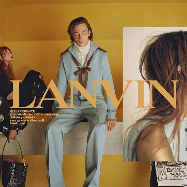 Lanvin 2019年秋冬系列广告大片