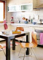 利用率超高的厨房,是Yann做西餐、文嘉做中餐、孩子做甜品的乐园。
