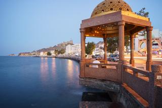 保留历史精华的未来之城:徜徉阿曼首都马斯喀特的老城海景