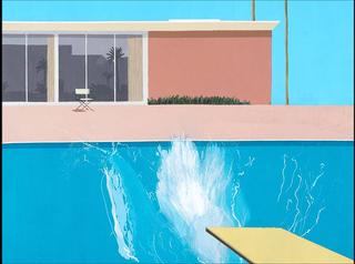 现代英伦 David Hockney