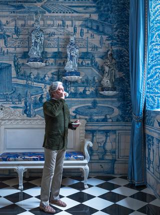 这位普京和卡塔尔王室的御用设计师,他自己的家连客户都羡慕!