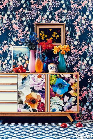 如果家里的壁纸能像我换衣服一样任性……