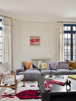 封面故事   爆改巴黎老公寓,一家六口美美的家