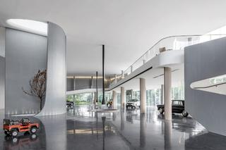 青岛和通行汽车展厅