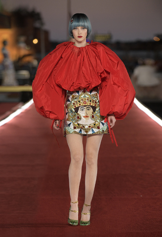 Dolce&Gabbana 杜嘉班纳 2021女装秀高级定制系列发布