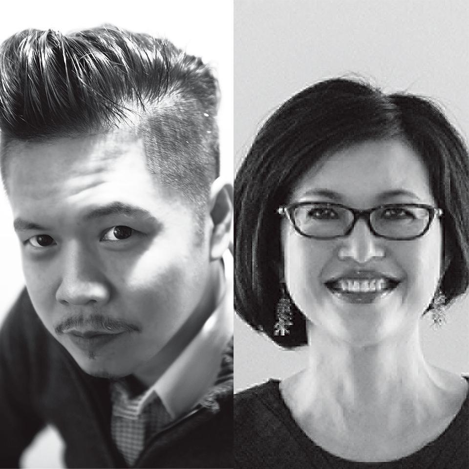 Ben Goh(左)Jane Chen(右)