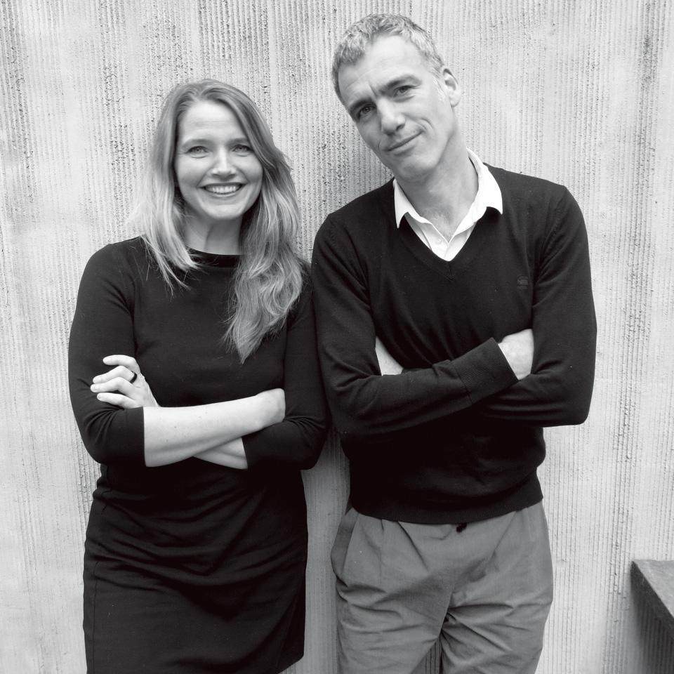 Wendy Saunders(左)Vincent de Graaf (右)