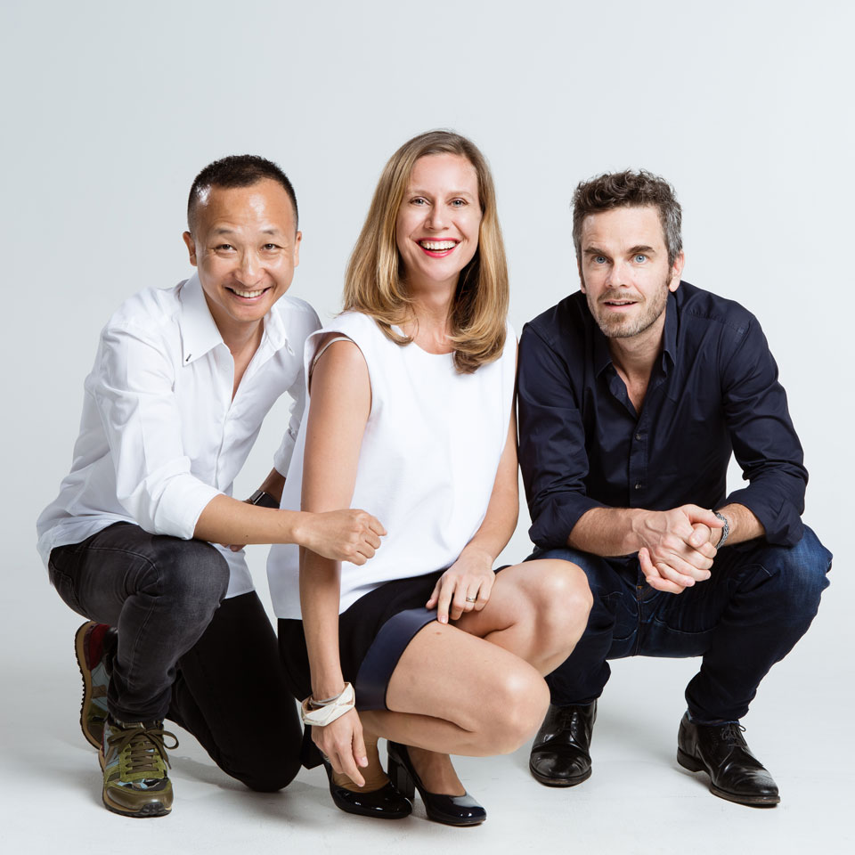 Karin Hepp 、Tom Chan、Andreas Thomczyk