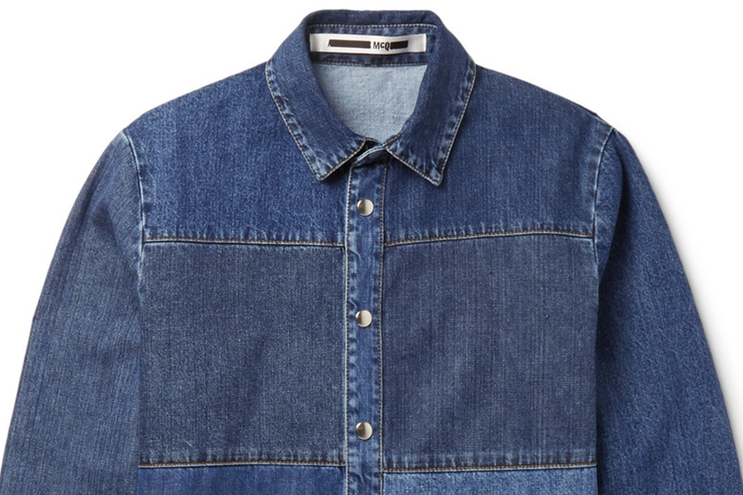 有多少种蓝才能成就牛仔衬衫