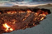 地狱之门 土库曼斯坦 卡拉库姆沙漠 摄影:Daniel Kreher 土库曼斯坦卡拉库姆沙漠(Karakum Desert)的这...