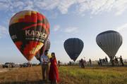 菲律賓邦板牙每年2月會有熱氣球節,這個節日有17年的歷史,不僅有各式的氣球,還有獨具民族特色的各式表...