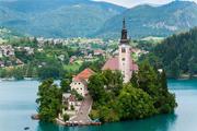 """布莱德湖:布莱德湖被称作是""""阿尔卑斯山的眼睛"""",1981年被指定为国家公园。其实,早在17世纪,这里就被..."""