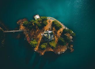 美翻天!摄影师航拍瑞典隐藏美景