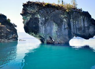 探访智利最美大理石洞穴 大自然的奇迹之作